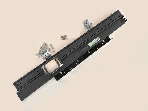 "Rack Mount 7"" With Slides 26"", Black"