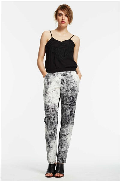 Player Geometric Print Long Pant