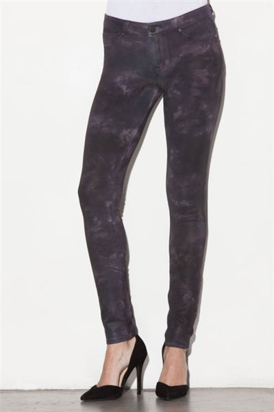 Anarchy Knit Skinny Pants in Mystery