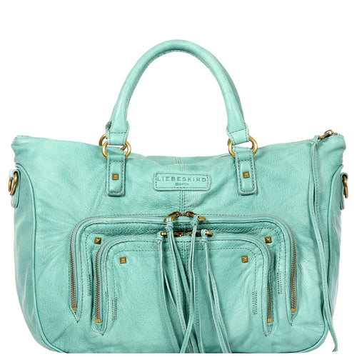 Esther F Leather Satchel Handbag