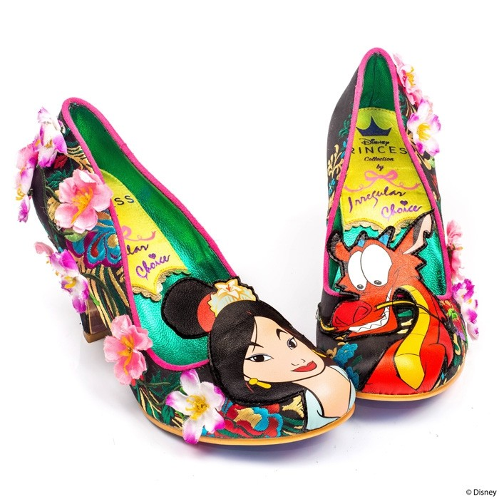 Irregular Choice x Disney Princess Collection - Let Dreams Blossom Shoes