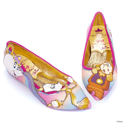 Irregular Choice x Disney Princess Collection - Be Our Guest Flats