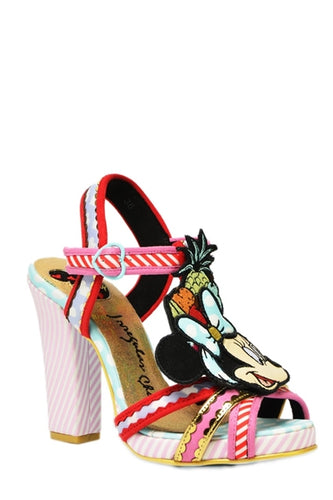 Disney Tropical Minnie Strappy Platform Sandals Limited Edition