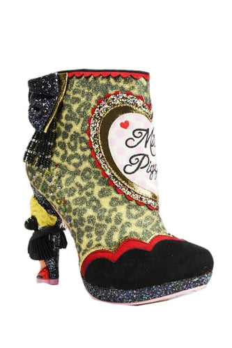 Fierce Piggy Heeled Embellished Boots