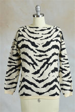 Tiger Stripes Jacquard Sweater