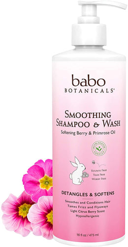 Smoothing Shampoo & Wash 16 fl. oz.