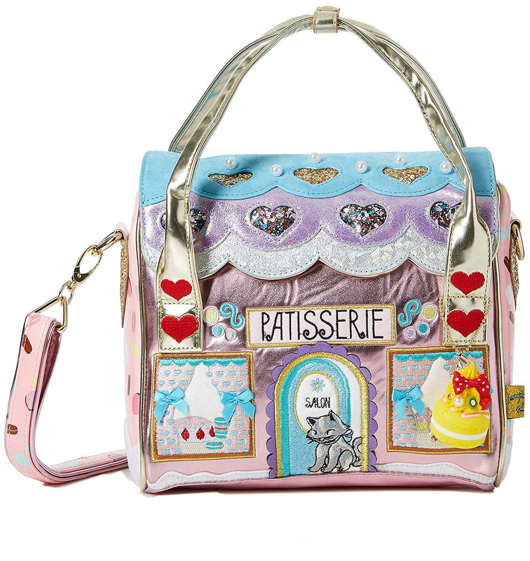 Le Cafe Du Chat Macaron Pastry Shop Inspired Satchel