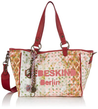 Mika Printed Distressed Canvas Tote