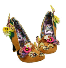 Irregular Choice x Disney Hyah Bambi Mismatched Faces Heels