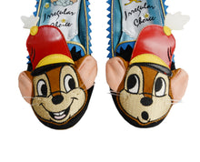 Irregular Choice x Disney The Big Act Timothy Mouse Mismatch Faces Flat Shoes