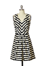 Jamison Fit and Flare Stripe Dress
