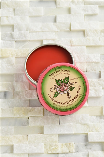 Smith's Mocha Rose Lip Balm Tin