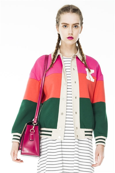 Eye Candy Bomber Jacket
