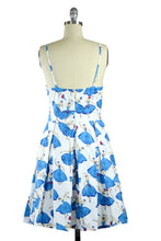 Isabelle Blue Ballerina Spaghetti Strap Dress