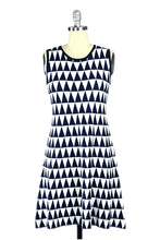 Naples Geometric Knit Shift Dress