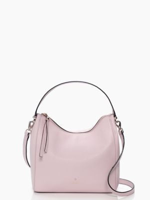 Charles Street Small Haven Leather Hobo Crossbody Bag