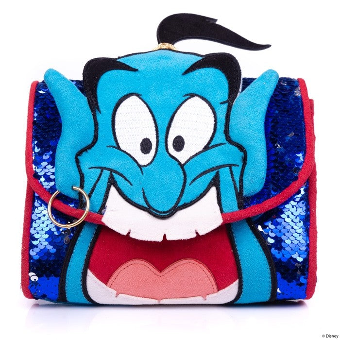 Irregular Choice x Disney Princess Collection - Aladdin Genie At Your Service Mini Handbag
