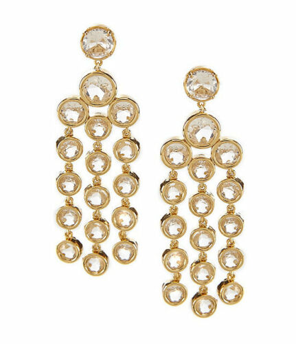 Subtle Sparkle Chandelier Earrings