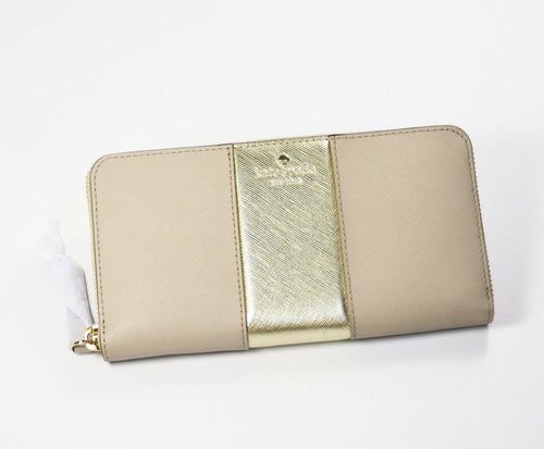 Cedar Street Racing Stripe Lacey Zip Wallet