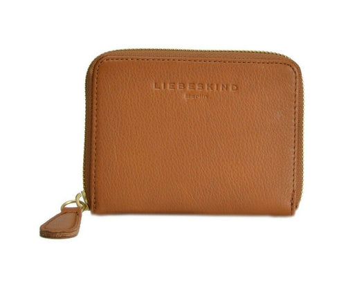 Donate Leather Wallet in Cognac