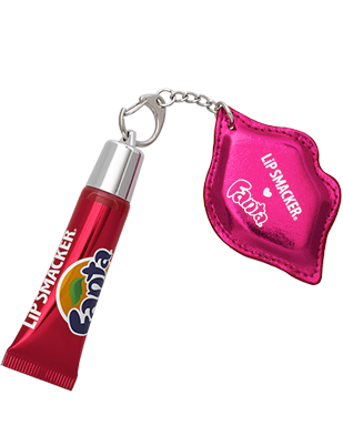 Strawberry Fanta Refresh Gloss with Keychain