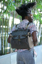 Jesse Boykins Large Leather Messenger Bag Convertible to Backpack