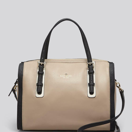 Kinslow Bedford Square Leather Satchel Bag