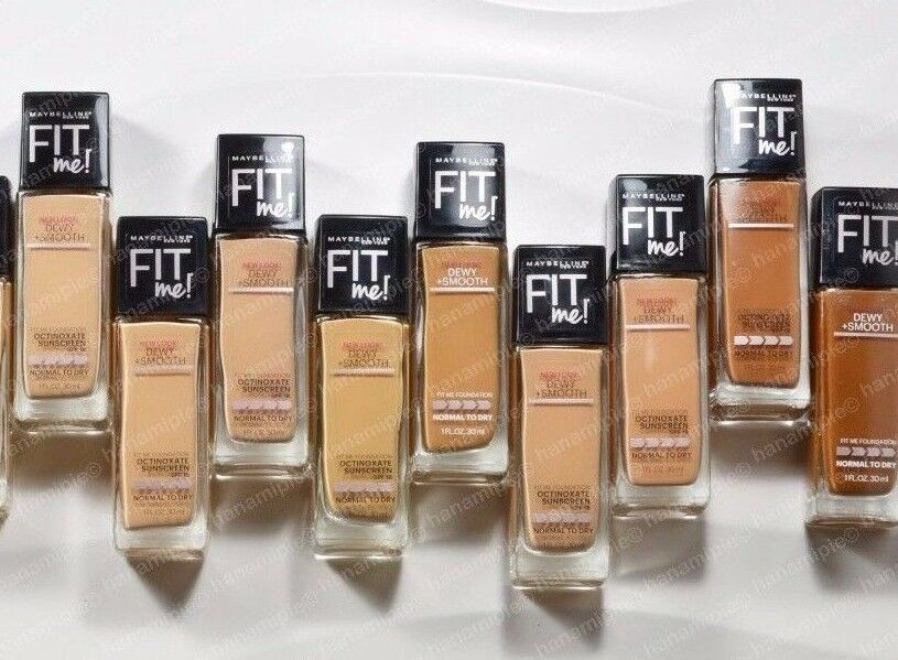 Fit Me Foundation Dewy + Smooth