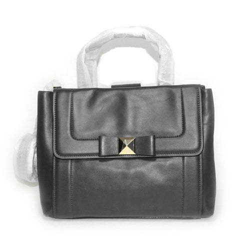 Bow Terrace Bradshaw Leather Satchel Crossbody Bag