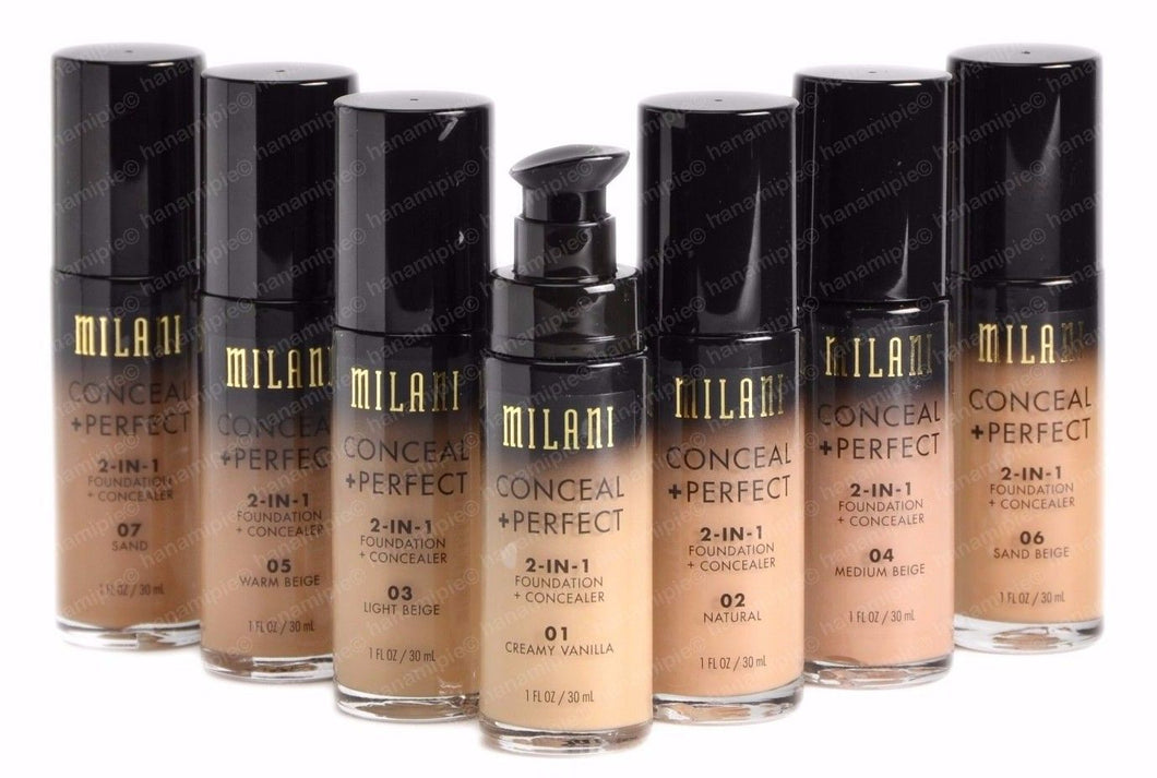 Conceal + Perfect 2-in-1 Foundation + Concealer