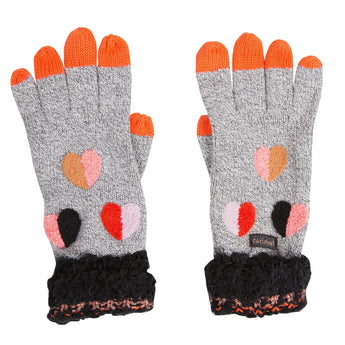 Catimini Gris Chine Gloves