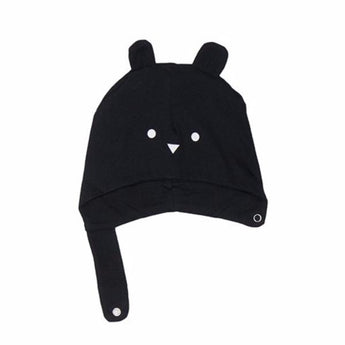 Hux Baby Black Bear In A Hat