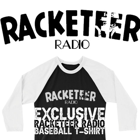 Racketeer Radio Exclusive Baseball T-Shirt - The Hartmann Company