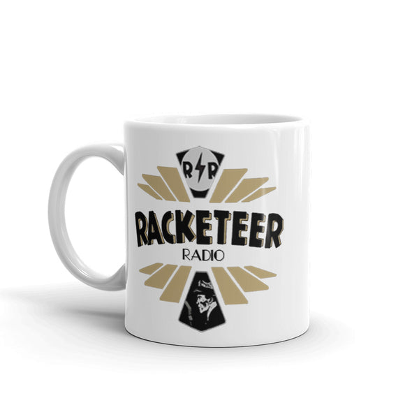 Gold Racketeer Radio Mug - The Hartmann Company
