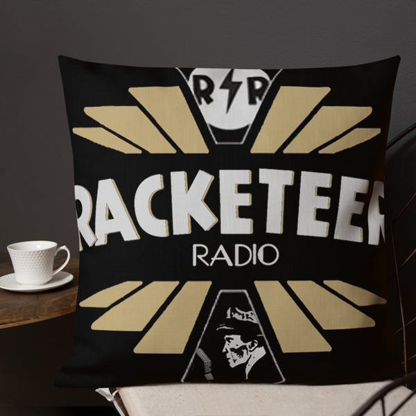 Racketeer Radio Premium Pillow - The Hartmann Company