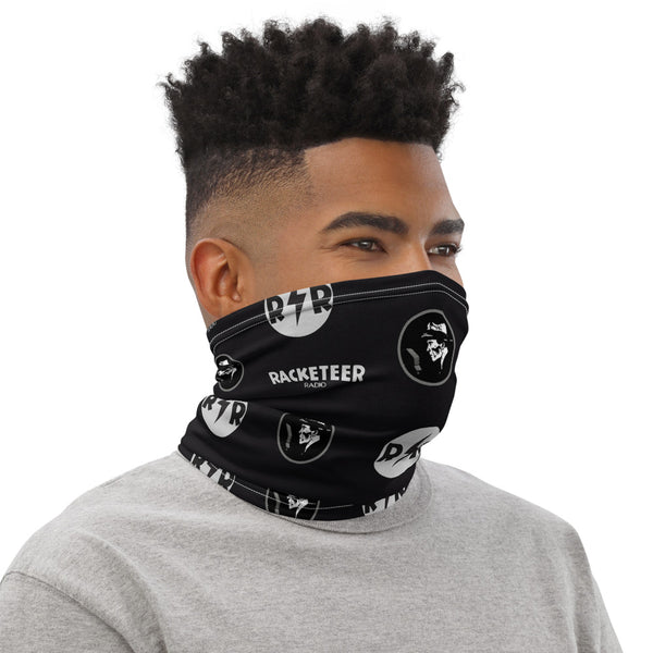 Racketeer Radio 'Silver' Neck Gaiter - The Hartmann Company