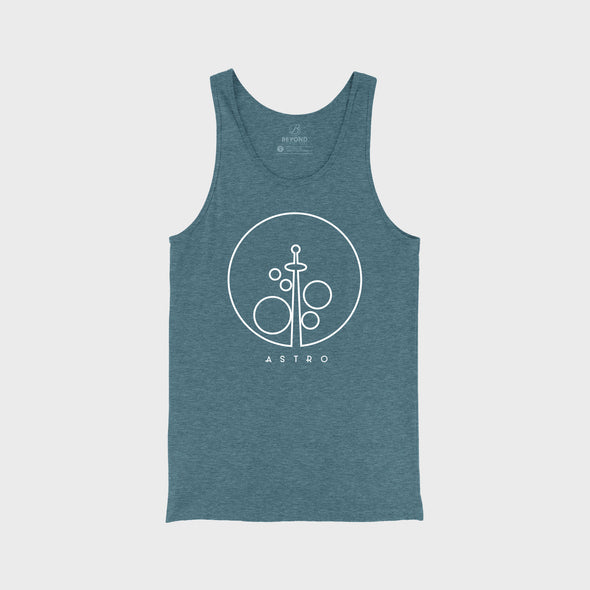 ASTRO AIR | Tank | Heather Slate