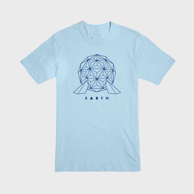 EARTH | Tee | Light Blue