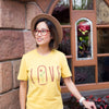 LOVE | Tee | Yellow
