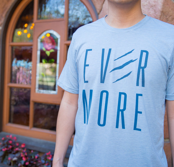 EVERMORE | Tee | Light Blue