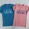 LOVEGOOD | Tees Bundle | Mauve & Teal