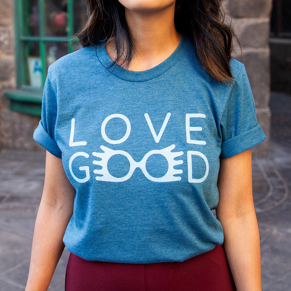 LOVEGOOD | Tee | Heather Teal