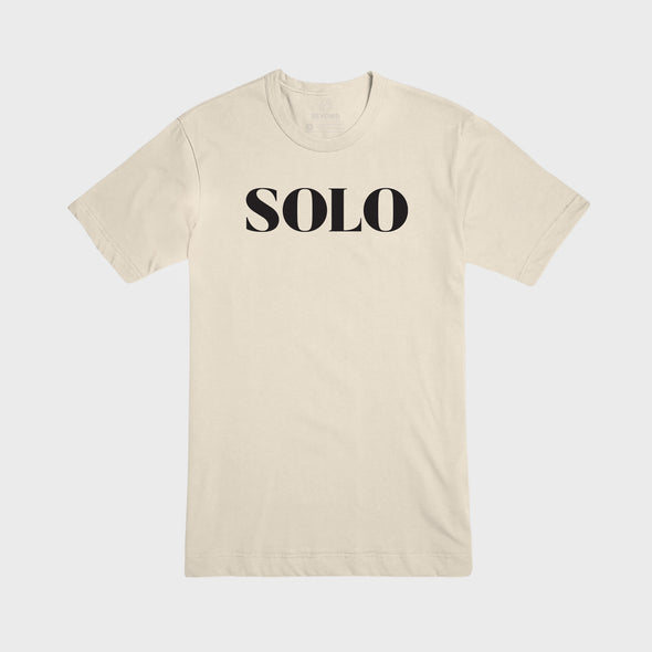 SOLO | Tee | Soft Cream