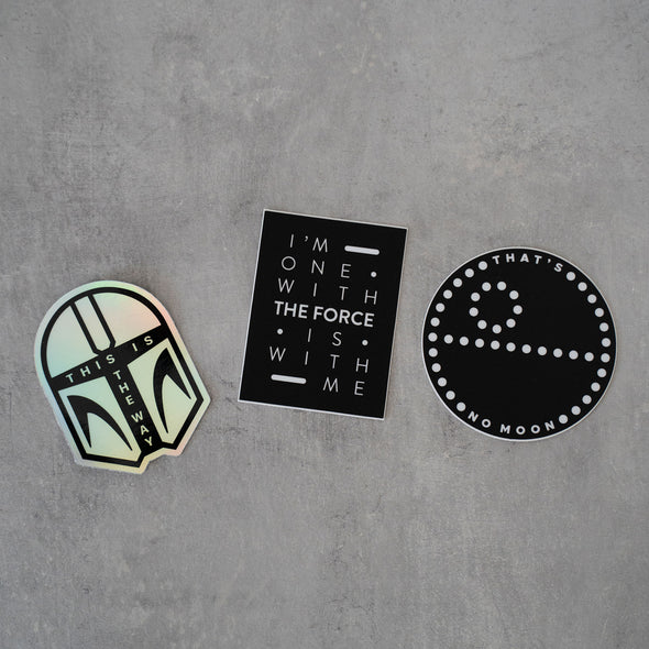 Galaxy | 3 Sticker Pack