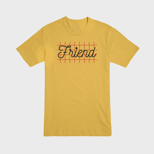 FRIEND | Tee | Yellow