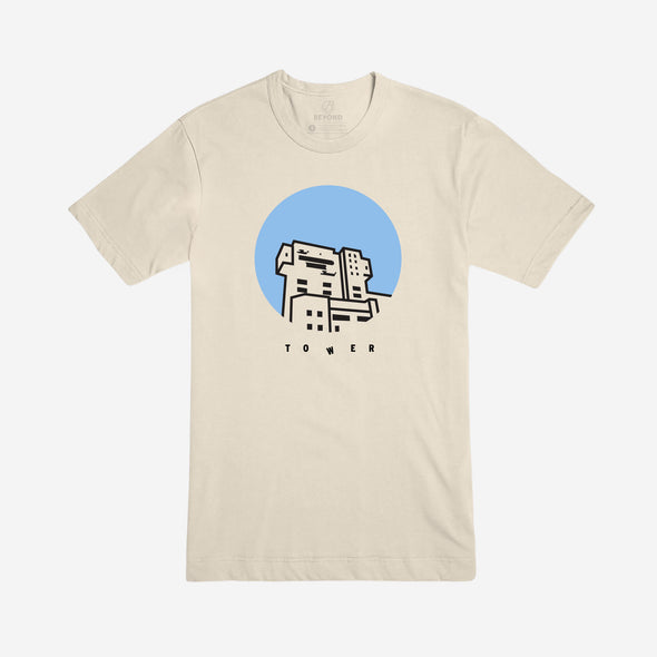 TOWER | Tee | Soft Cream