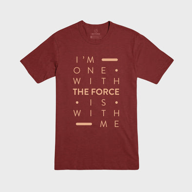THE FORCE | Tee | Heather Cardinal
