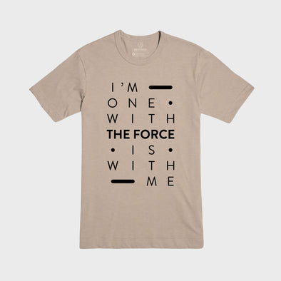 THE FORCE | Tee | Tan
