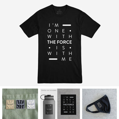 THE FORCE | Jedi Bundle | Black Tee