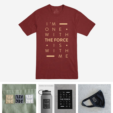 THE FORCE | Jedi Bundle | Cardinal Tee